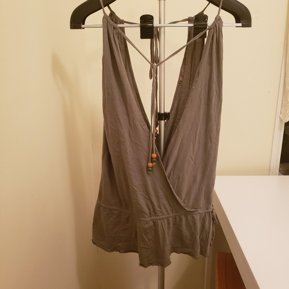 Forever 21 Tops - Forever 21 Olive Green  top size S